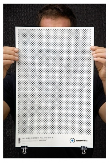 STAR GRID POSTERS on the Behance Network #white #pattern #black #grid #portrait #poster #and #face