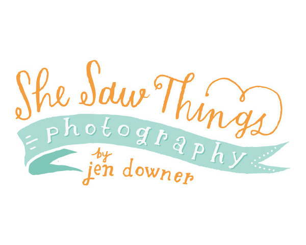 She Saw Things Mary Kate McDevitt • Hand Lettering and Illustration #logo #drawn #hand #typography