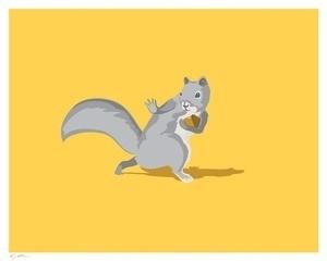 All-conference squirrel - Society6 #prints #davis #squirrel #laser #all #art #brock #conference #bread