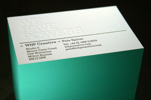 Cranes / Fresco Duplex letterpress business cards #card #identity #business