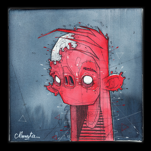 F*ckin faces by Monsta #illustration #design #graphic #art