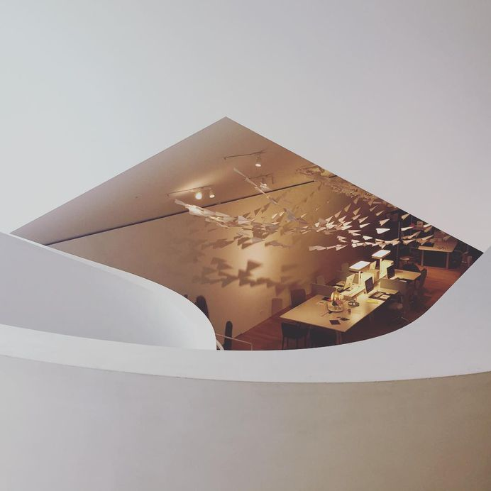 #VitraHaus von Herzog & de Meuron. #Papierflieger