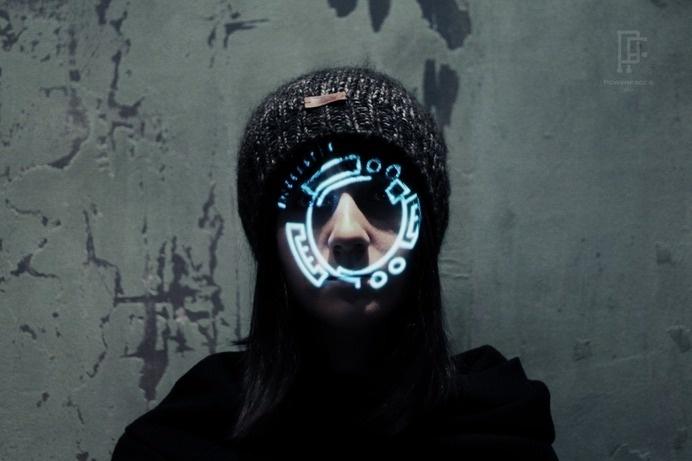 sekigan #symbol #face #light #scan