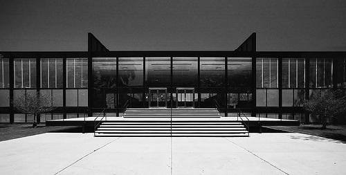 us/chcg/crown hall/02 | Flickr - Photo Sharing! #crown #chicago #stier #van #der #rohe #architecture #illinois #mies #hall #hagen