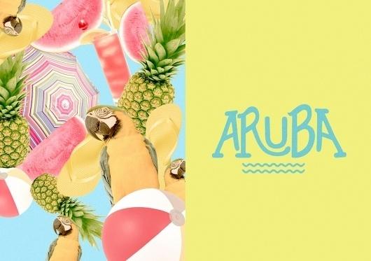 tumblr_lv6mxvuvxo1qd1qtgo1_1280.jpg (JPEG Imagen, 950x670 pixels) #type #fruits #tropical #typography
