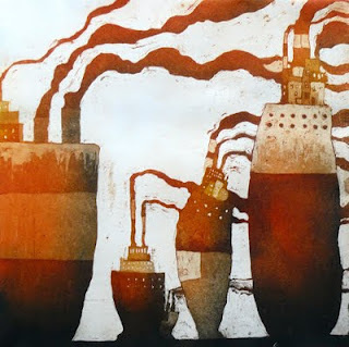 lundi 11 avril 2011 #lithography #boat