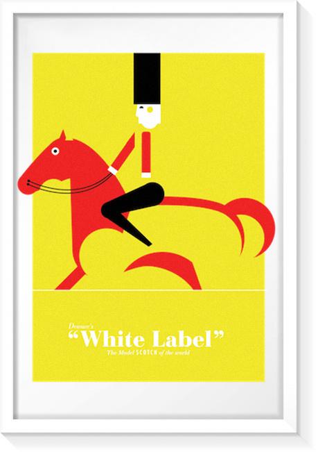 White Label #print #poster #ilustraton