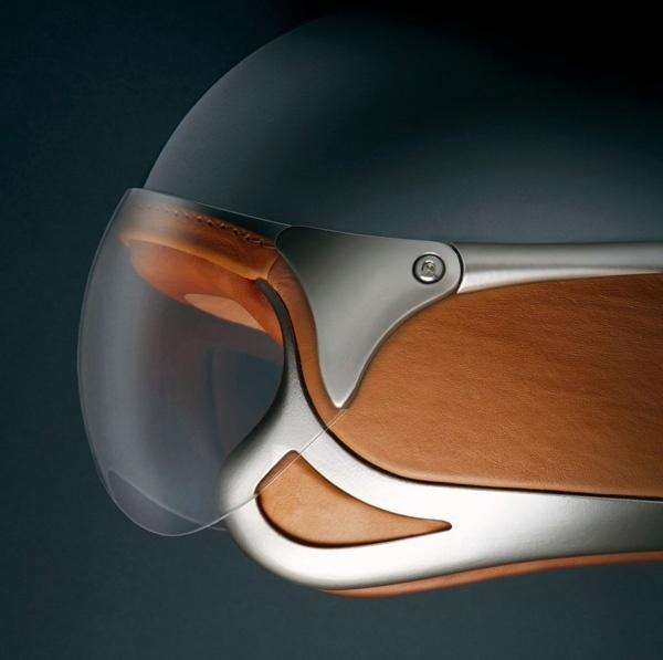 Ferrari Motorcycle Helmet by Vinaccia Integral Design #design #product #industrial #craftsmanship #engineering