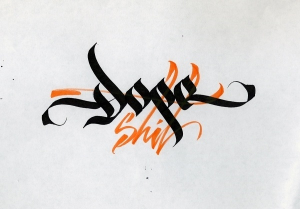 Calligraphica #calligraphy #type #illustration #typography