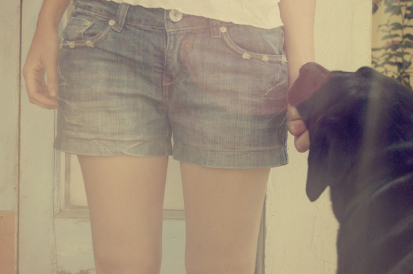 Bedst friends #legs #girl #dog