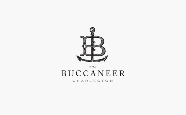 the buccaneer charleston logo design #logo #design