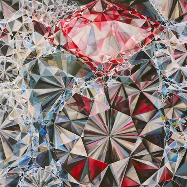 FECAL FACE DOT COM #paint #geometric