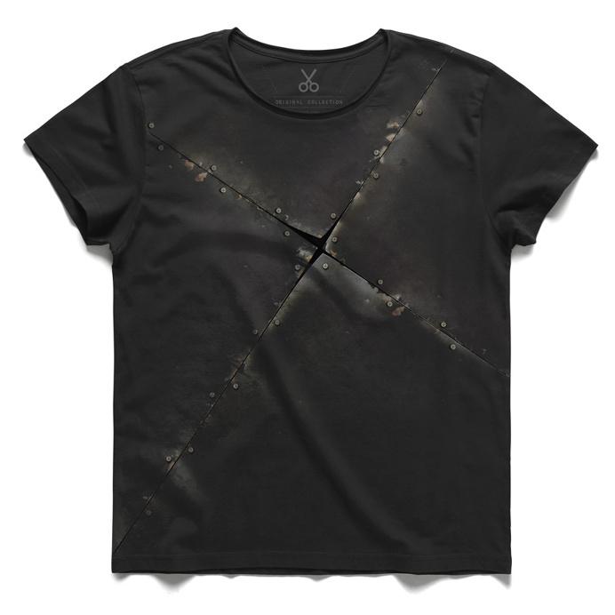 #ayrim #gray #tee #tshirt #marx #allthatissolidmeltsintoair #rusty #screw #metal #nail