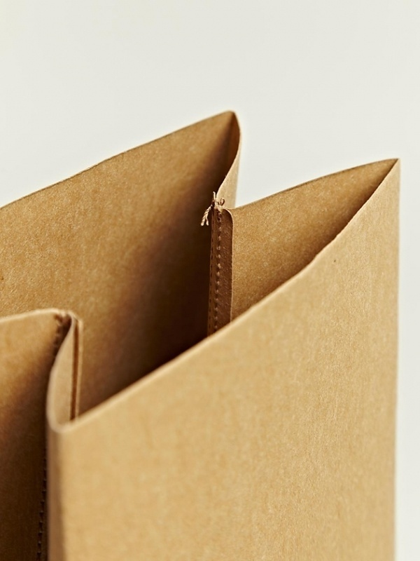 urban taster   a quick (almost daily) taste of the urban landscape #jil #sander #brown #bags #paper