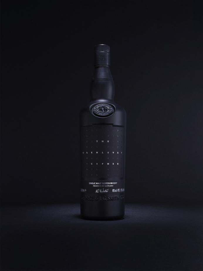 The Glenlivet Cipher #packaging #bottle #whisky #black