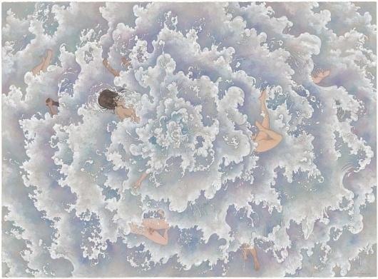 Drowning Party - Kozyndan #illustration #painting