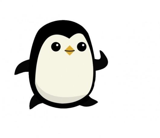 Alex Cornell #illustration #cartoon #cute #penguin #character