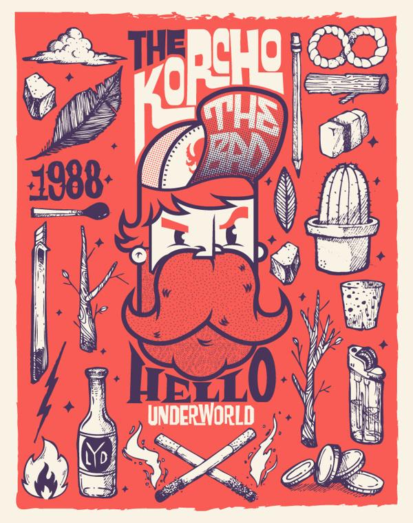 BARBA en Behance #beard #korcho #ilustracin