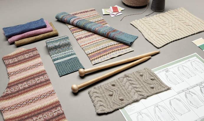 L.L.BEAN - Alyssa Stoisolovich | Strategic Design #llbean #fairisle #knitting #color #photography #swatches #knitwear