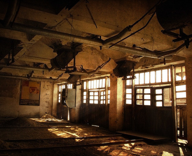 Abandoned Place by Andrzej Sykut #urban #photography #inspiration