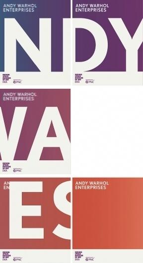 Andy Warhol Enterprises | Matt Kelm Design #andy #museum #indianapolis #of #warhol #matt #posters #art #signage #kelm
