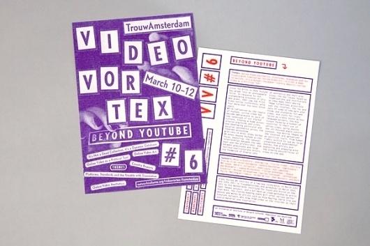 Team Thursday * graphic design #flyer