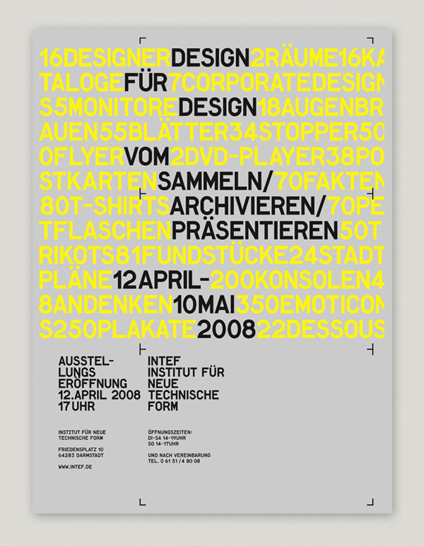 INTEF EXHIBITION #type #poster