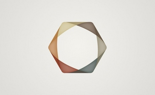 Graphic-ExchanGE - a selection of graphic projects #logo #circle #triangles #pastel