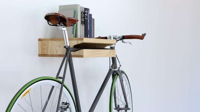 bike8 #interior #inspirational #creative #design #home #bike #rack #cool