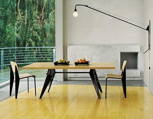 DESIGN FOR MEN » mid-century #interior #modern #design #furniture #prouve #jean #midcentury