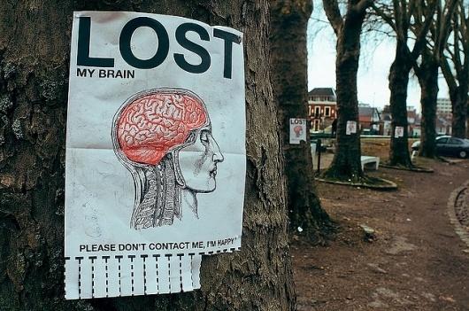 All sizes   LOST MY BRAIN   Flickr - Photo Sharing! #lost #media #brain #street