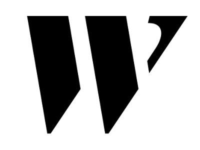 """Dribbble - Logotype """"w"""" by Kris Sowersby #kris #sowersby #klim #stencil #foundry #type"""