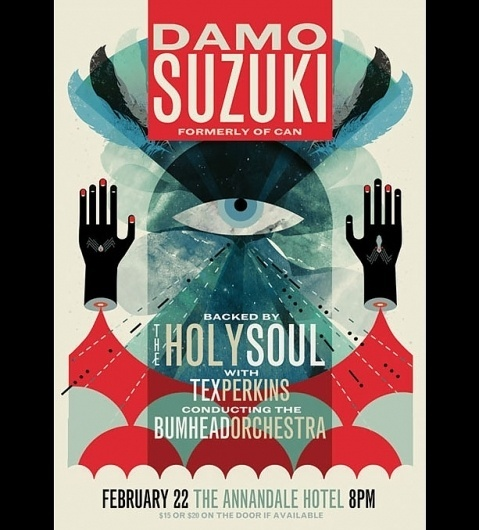 Band Posters 2008 - W$YK #gig #bands #poster
