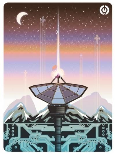 http://solo71.tumblr.com/ #vector #fiction #poster #science #robots