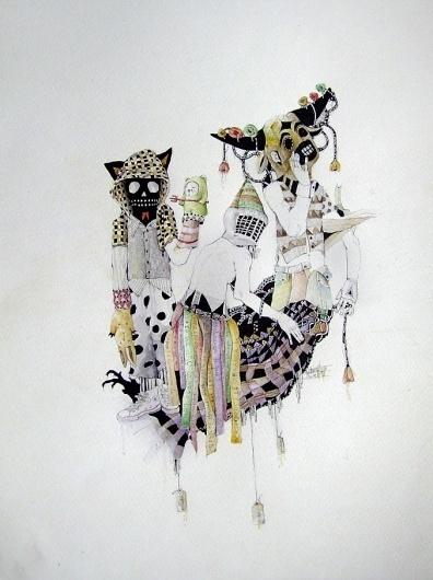 All sizes | mascarados | Flickr - Photo Sharing! #illustration #virgilio #drawing #weird