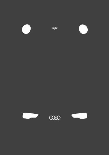 Yoni Alter #mini #eyes #yoni #alter #illustration #audi #car