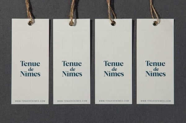 Tenue de Nîmes Identity | Another Something #another #something #branding