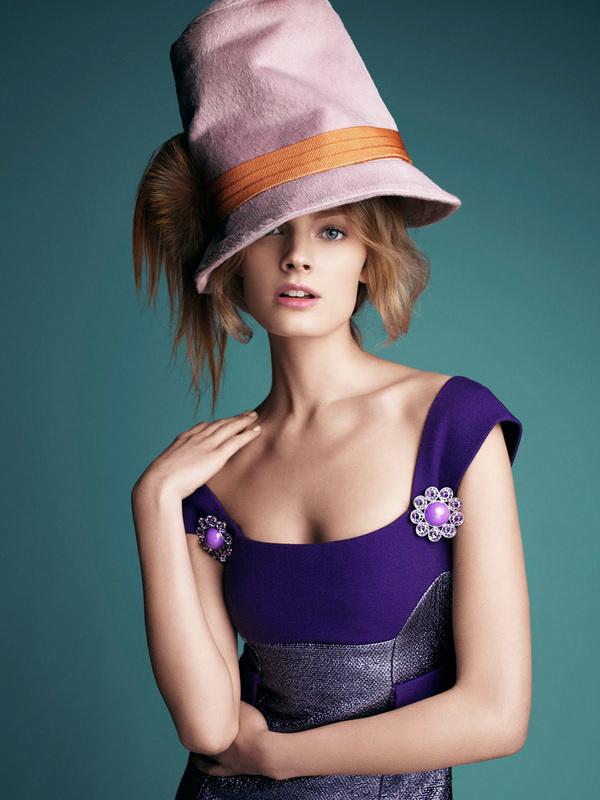 Constance Jablonski by Victor Demarchelier for Harpers Bazaar Australia #fashion #model #photography #girl