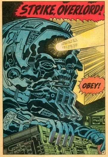 Ghost in the Machine by Jack Kirby #jack #illustration #comics #kirby