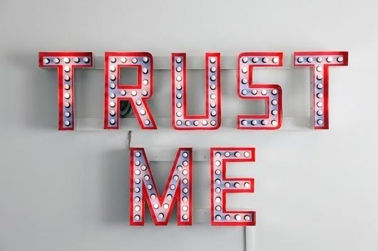 Artlog / Steve Lambert, Trust Me