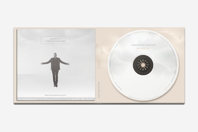 Jonathan Pastor #packaging #music #heaven #god #glory #home #minimal #pure #home