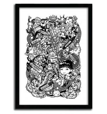 Doodle Pens by Lei Melendres #print #art