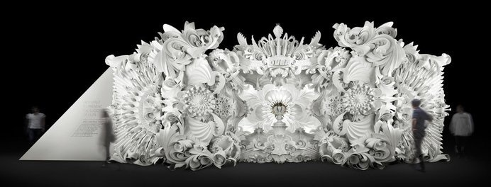 . #folds #cut #white #set #origami #paper