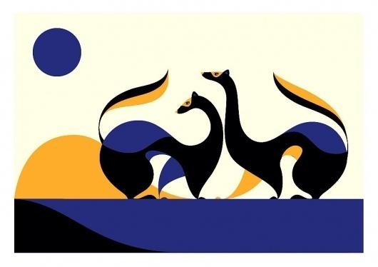 Ferrets - malikafavre #illustration