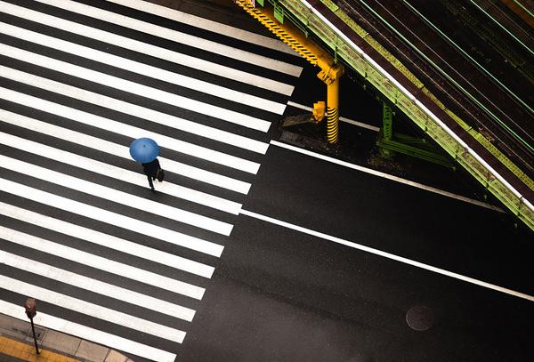 Navid Baraty #crosswalk #city #stripes #photography #intersection