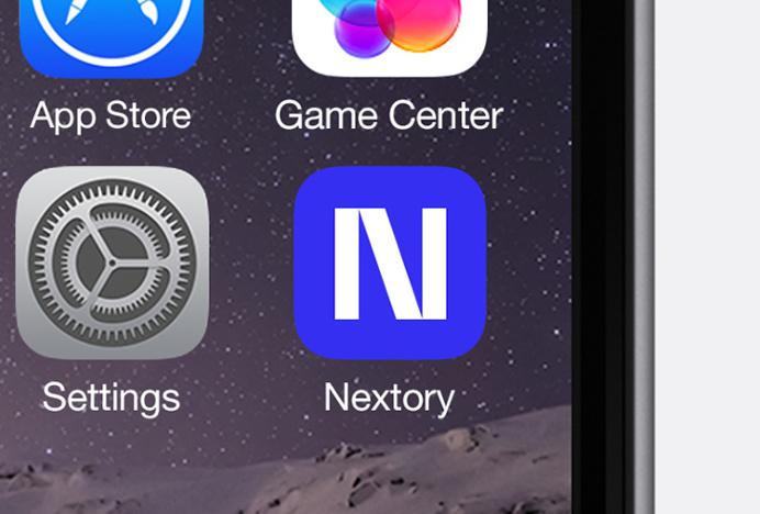 Nextory by Essen International #ios #icon