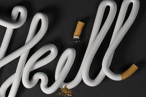Goverdose on the Behance Network #smoking