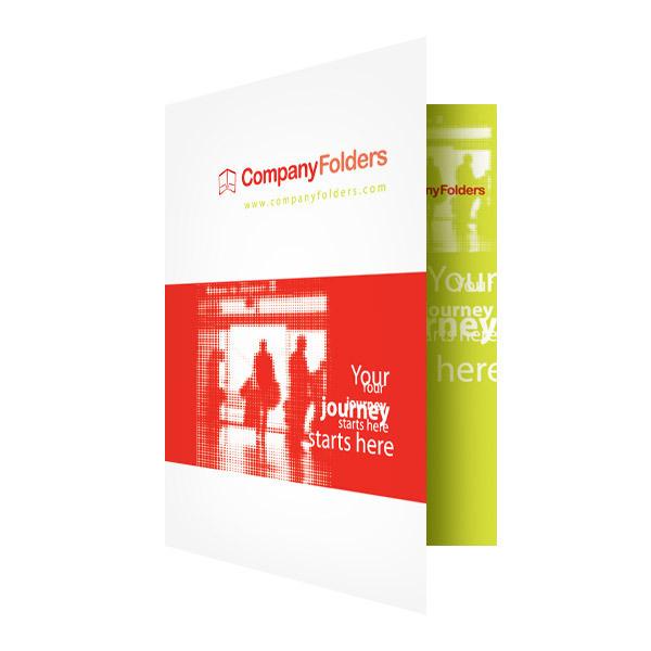 Silhouette Travel Agent Folder Template #red #business #illustrator #orange #travel #pretty #fancy #lime #silhouette #brochure #template #ai #folder #green