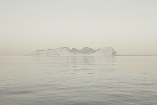 Melt Portrait of an Iceberg on the Behance Network #iceberg #ice #photography #white