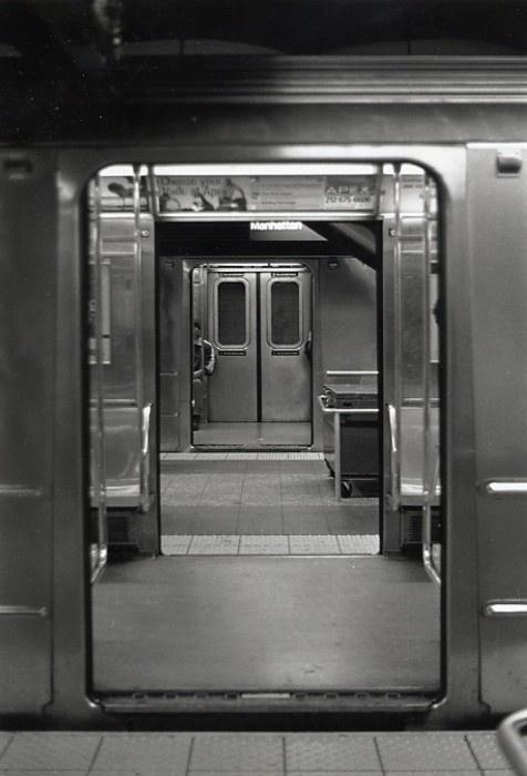 #subway #metal #b&w